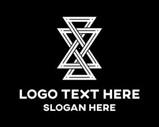 Hourglass - Infinity Time logo design
