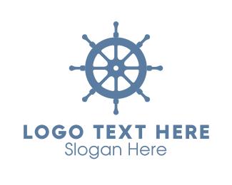 Vessel - Ship Wheel logo design