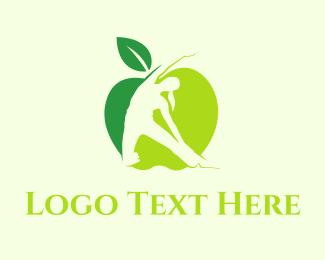 Women - Green Core logo design