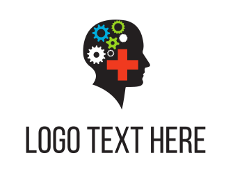 Cog - Mental Health logo design