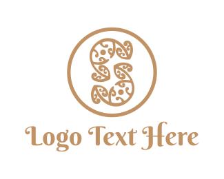 Elegance - Floral Letter S logo design