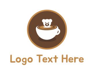 Bear Cup logo design