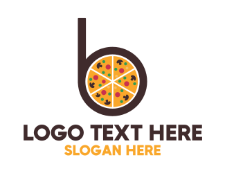 Pepperoni - Pizza Pie B logo design