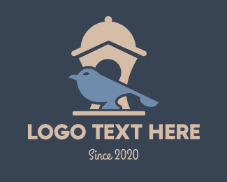 Birdie - Foody Bird logo design