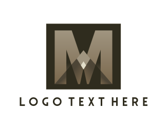 """""""Eagle Letter M"""" by phelandesign"""