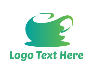 Tea - Abstract Green Tea logo design