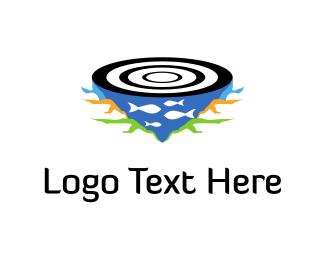 """Fishing Target "" by logodad.com"
