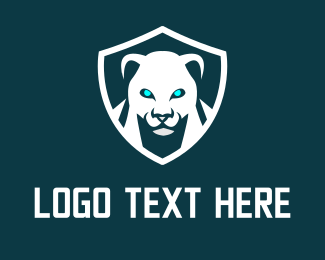 Mythical Creature - Panther Shield Gaming logo design
