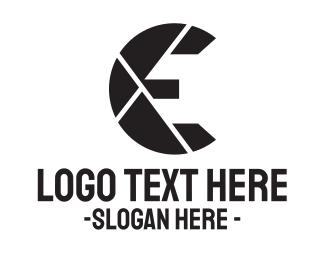 Lens - Lens Letter logo design