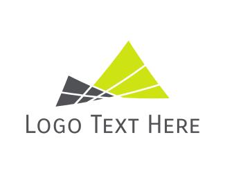 Volcano - Minimalist Mountains logo design