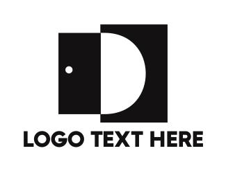Fine Dining - Open Door D logo design