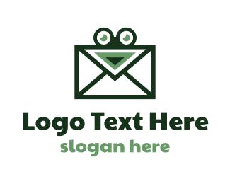 Toad - Frog Mail logo design