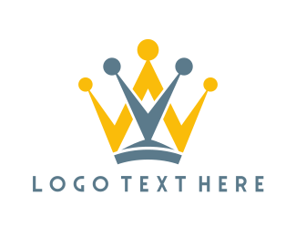 Crown - Crown Letters logo design
