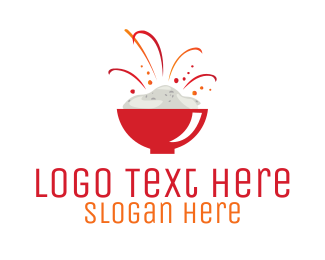 Chinese - Rice Bowl logo design