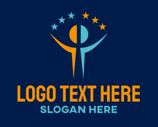 Star - Star Man logo design