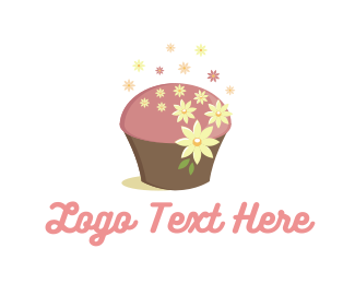 Adorable - Cute Cupcake logo design