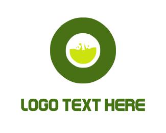Toxic - Toxic Letter O logo design