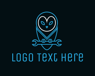 Mechanic - Bird Tool logo design