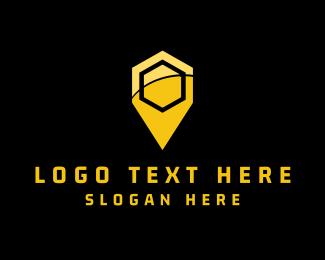 Place - Hive Place logo design
