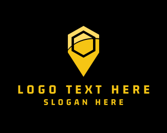 Bee - Hive Place logo design