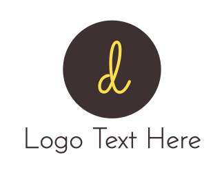 Confectionery - D Circle logo design