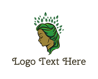 Hairdresser - Mother Nature logo design