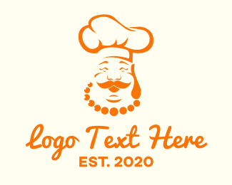 Buddha - Buddha Chef logo design