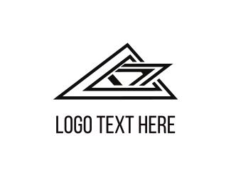 Polygon - Black Peaks logo design