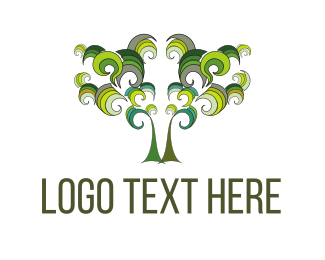 Marijuana - Olive Tree logo design