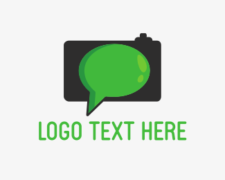 Talk - Talking Camera logo design