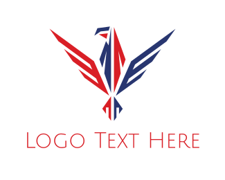 Veteran - Patriotic Eagle logo design