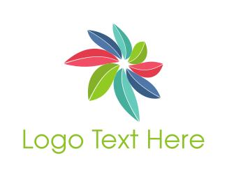 Startup - Colorful Leaves  logo design
