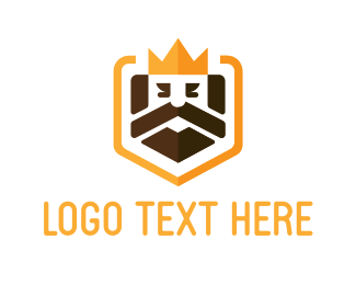Web Developer - King Shield logo design