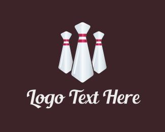 Tuxedo - Bowling Tie logo design