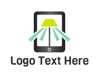 Mobile Application - Mobile Light logo design