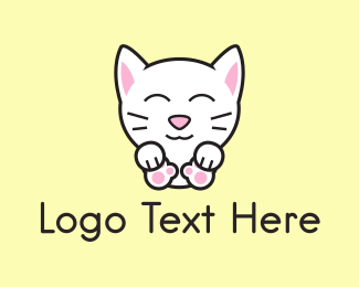 Pet Store - Kitten logo design