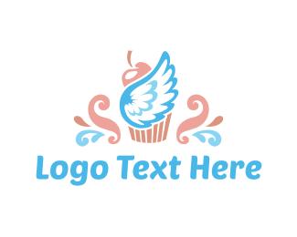 Dessert - Heaven Cupcake logo design