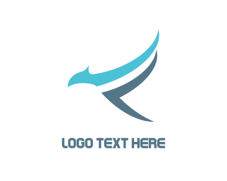 Airport - Blue Falcon logo design
