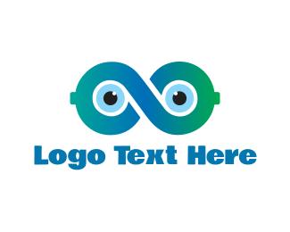 Infinite - Infinity Eyes logo design