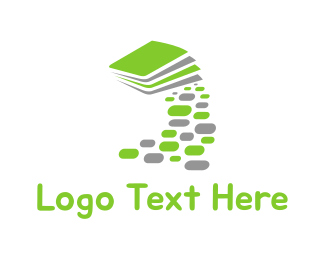 Notepad - Book Path logo design