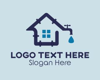 Tap - House Plumbing logo design