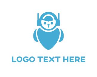 Security - Security Robot logo design