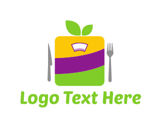 Eating - Healthy Diet logo design