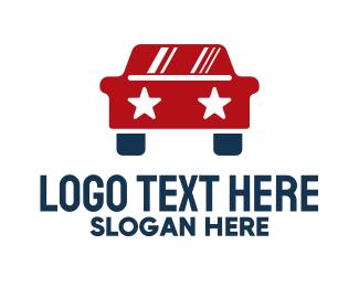 Political - Star Car logo design