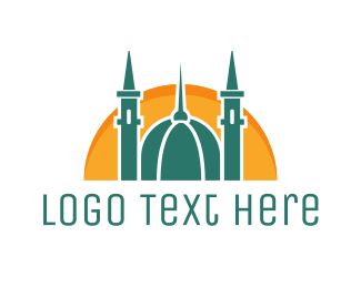 Religion - Islamic Mosque logo design