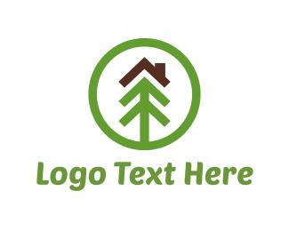 Brown - Ecological House logo design