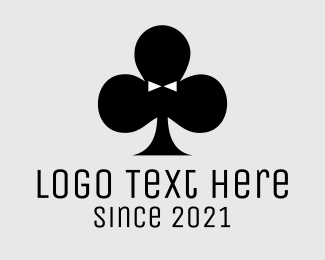 Gambling - Poker Tuxedo logo design