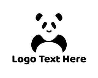 Panda Bear Logo