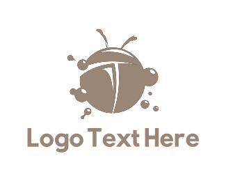 Ladybug - Bubble Bug logo design