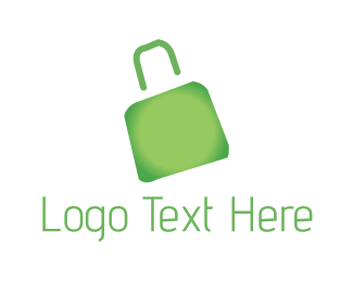 Handbag - Green Bag logo design